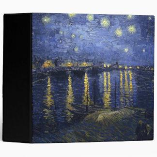 Starry Night Over the Rhone Binder