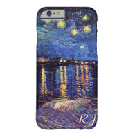 Starry night over the Rhone by Van Gogh Barely There iPhone 6 Case