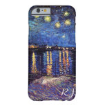 Starry night over the Rhone by Van Gogh iPhone 6 Case