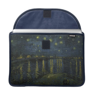 Starry Night Over the Rhone by Van Gogh Sleeve For MacBook Pro