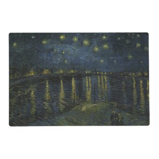 Starry Night Over the Rhone by Van Gogh Placemat