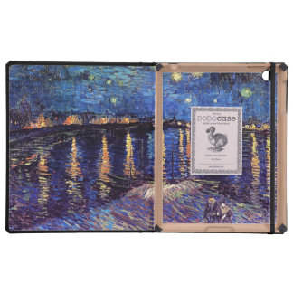 Starry Night over the Rhone, by Vincent van Gogh. iPad Folio Case