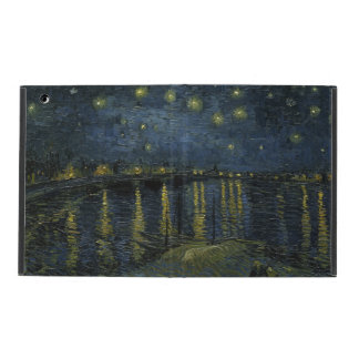 Starry Night Over the Rhone by Vincent Van Gogh iPad Folio Case