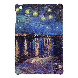 Starry Night over the Rhone, by Vincent van Gogh. iPad Mini Cases