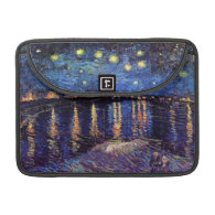 Starry Night over the Rhone, by Vincent van Gogh. Sleeves For MacBooks