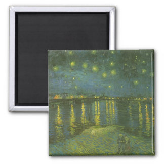 Starry Night Over the Rhone by Vincent van Gogh Magnet