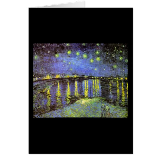 Starry Night over the Rhone Card