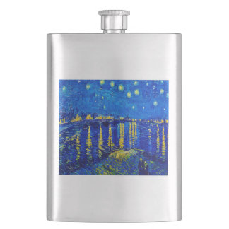 Starry Night Over the Rhone Flask