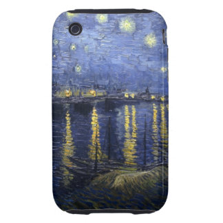 Starry Night Over the Rhone iPhone 3G/3GS Case
