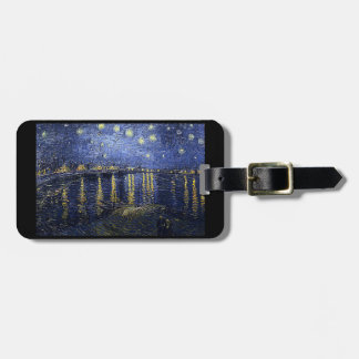 Starry Night Over The Rhone Luggage Tag