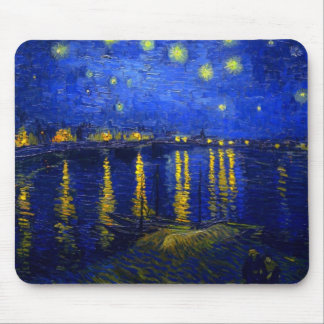 Starry Night Over the Rhone  Mousepad 2