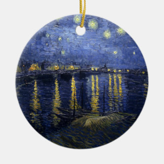 Starry Night Over the Rhone Ornament