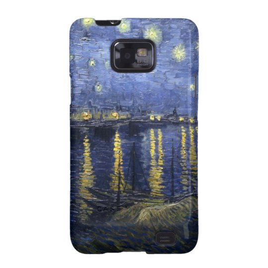 Starry Night Over the Rhone Samsung Galaxy S Case