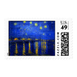 Starry Night Over The Rhone Stamp
