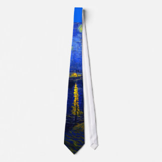 Starry Night Over the Rhone Tie