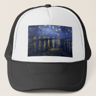 Starry Night Over the Rhone Trucker Hat