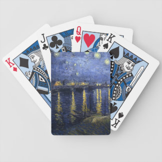 Starry Night Over the Rhone - Van Gogh (1888) Bicycle Playing Cards