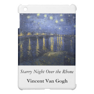 Starry Night Over the Rhone - Van Gogh (1888) iPad Mini Cases
