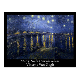 Starry Night Over the Rhone - Van Gogh 1888 Post Cards