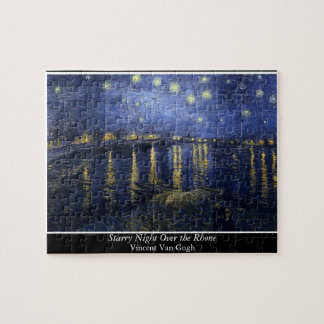 Starry Night Over the Rhone - Van Gogh 1888 Puzzles