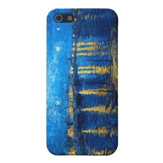 Starry Night Over the Rhone, Van Gogh Cover For iPhone SE/5/5s
