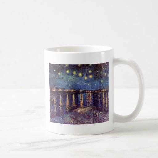 Starry Night Over the Rhone - Van Gogh Classic White Coffee Mug