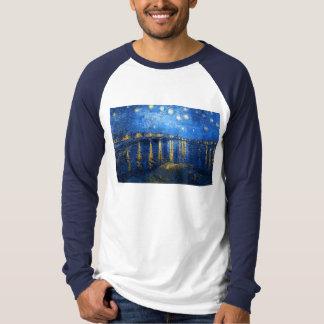 Starry Night Over the Rhone, Van Gogh T-Shirt