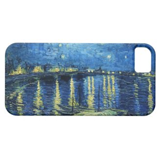 Starry Night over the Rhone Vincent van Gogh iPhone 5 Covers