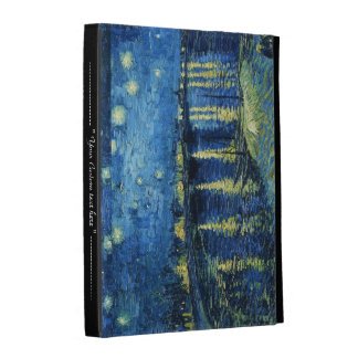 Starry Night over the Rhone Vincent van Gogh iPad Folio Cover