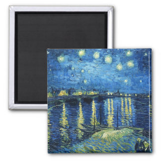 Starry Night over the Rhone Vincent van Gogh Magnet