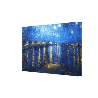 Starry Night Over the Rhone, VincentVan Gogh Canvas Print