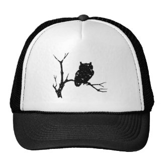 Starry Night Owl Trucker Hat