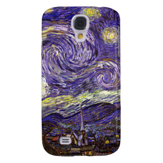 Starry Night painting by artist Vincent Van Gogh Samsung Galaxy S4 Cases