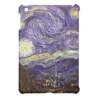 Starry Night painting by artist Vincent Van Gogh Cover For The iPad Mini