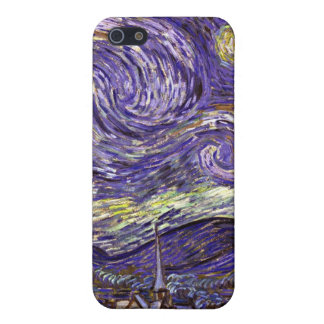 Starry Night painting by artist Vincent Van Gogh iPhone 5 Covers
