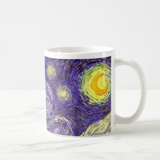 Starry Night painting by artist Vincent Van Gogh Classic White Coffee Mug