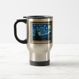 Starry Night Painting By Painter Vincent Van Gogh Mug