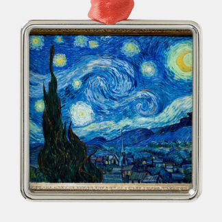 Starry Night Painting By Painter Vincent Van Gogh Ornament