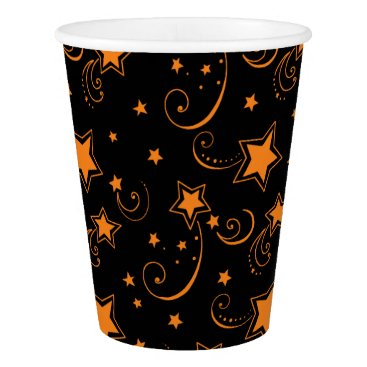 Halloween Themed Starry Night Paper Cup