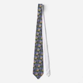Starry Night - Pembroke Welsh Corgi 7b Tie