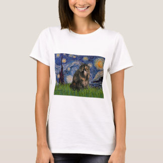 Starry Night - Persian Calico cat T-Shirt