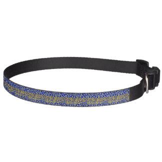 Starry night pet collar