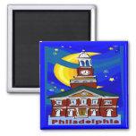 Starry Night Philadelphia Fridge Magnet