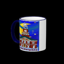 Starry Night Philadelphia mugs