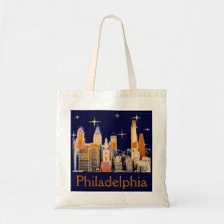Starry Night Philadelphia Tote Bags