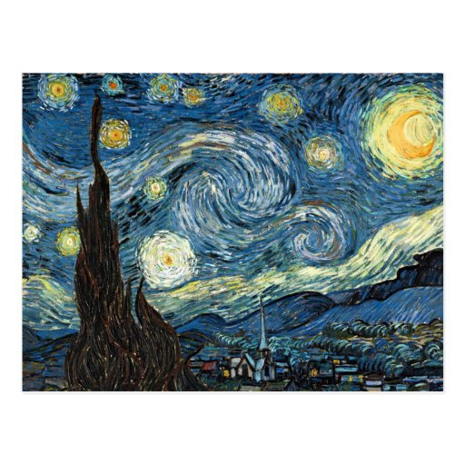 Starry Night Post Cards