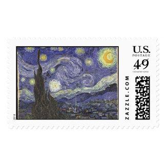 Starry Night Postage