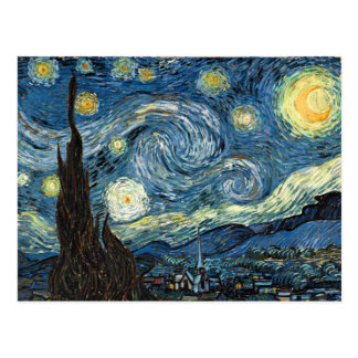 Starry Night Post Card