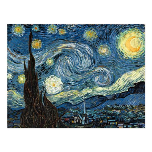 Starry Night Post Card