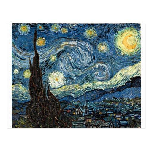 Starry Night Postcards